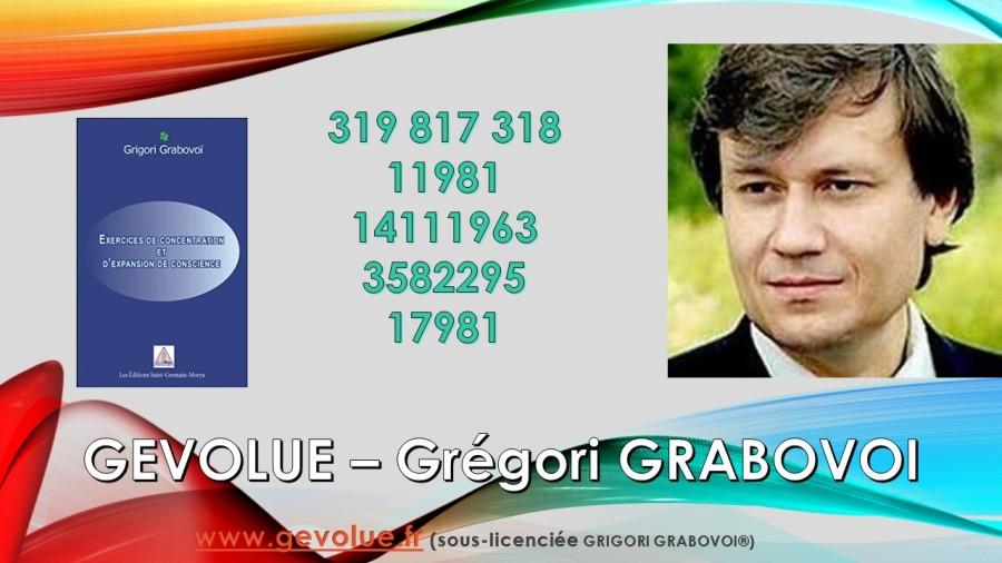 GEVOLUE Gregori GRABOVOI